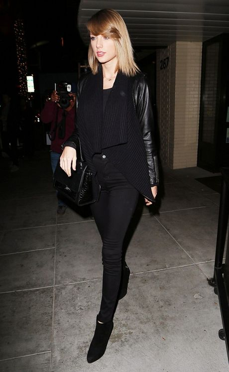 Chi voi mot chiec quan jeans, Taylor Swift bien hoa du kieu - Anh 9