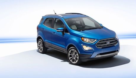 Ford EcoSport 2017 lo dien truoc ngay ra mat o My - Anh 1