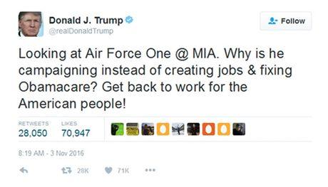 Trump vuot Obama, tro thanh 'tong thong mang xa hoi' - Anh 1