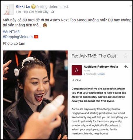 Bung no mau thuan giua Xuan Lan va BTC Vietnam's Next Top Model - Anh 1