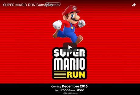 "Game Mario ""huyen thoai"" se co mat tren iPhone tu 15/12 - Anh 1"