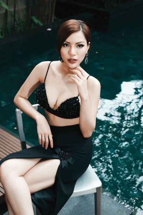Sieu mau chan dai 1m19 len duong thi Hoa hau Sieu quoc gia - Anh 9