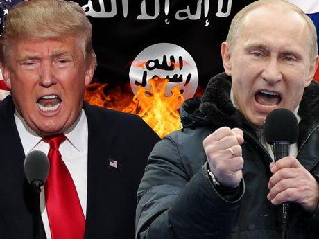 Ro tin ong Trump se 'song kiem hop bich' voi Nga, tan cong IS o Syria - Anh 1