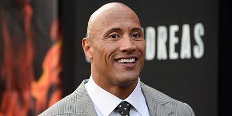 Dwayne 'The Rock' Johnson cung muon tranh cu Tong thong My - Anh 2