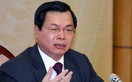 Bo truong Bo Noi vu: Vu viec ong Vu Huy Hoang chua co tien le - Anh 1