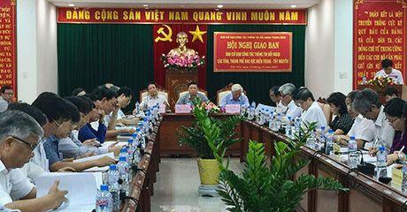 Hoi nghi giao ban thong tin doi ngoai khu vuc mien Trung- Tay Nguyen - Anh 1