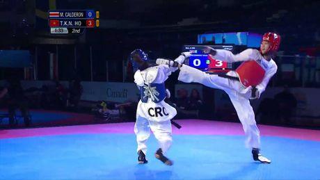 Nu vo si taekwondo Kim Ngan bat ngo 'len dinh' the gioi - Anh 1