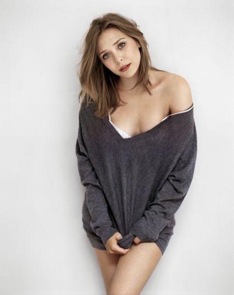 Elizabeth Olsen nong bong, sexy va tao bao - Anh 2