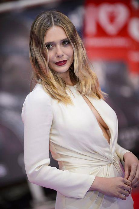 Elizabeth Olsen nong bong, sexy va tao bao - Anh 4