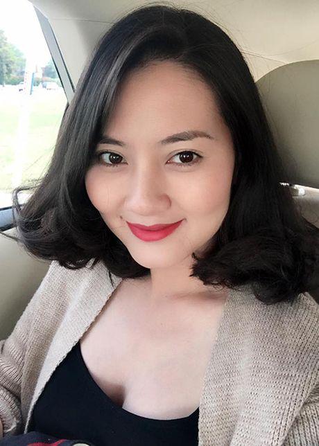 Dien vien Ngoc Lan lan dau khoe bung bau lum lum - Anh 8