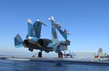 Toan canh cuoc khong kich bang Kalibr, Bastion, Su-33 Nga o Syria - Anh 15