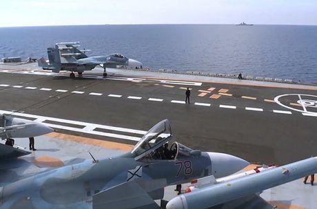 Toan canh cuoc khong kich bang Kalibr, Bastion, Su-33 Nga o Syria - Anh 2