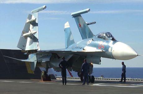 Toan canh cuoc khong kich bang Kalibr, Bastion, Su-33 Nga o Syria - Anh 3