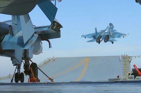 Toan canh cuoc khong kich bang Kalibr, Bastion, Su-33 Nga o Syria - Anh 7