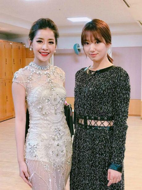 Ngam dan sao nu chau A thieu dot tham do Asia Artist Award - Anh 3