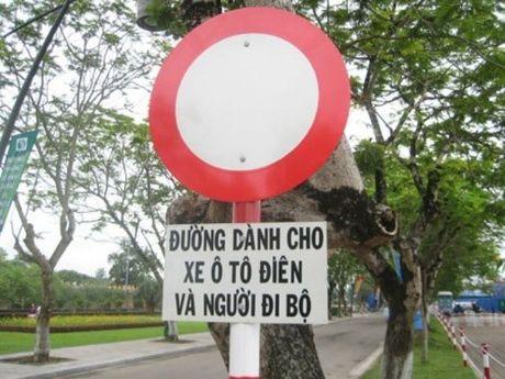 Het hon voi nhung bien bao giao thong ba dao o Viet Nam - Anh 1