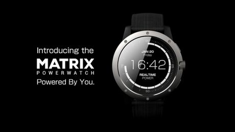 Matrix PowerWatch: smartwatch nap pin bang than nhiet nguoi dung - Anh 1