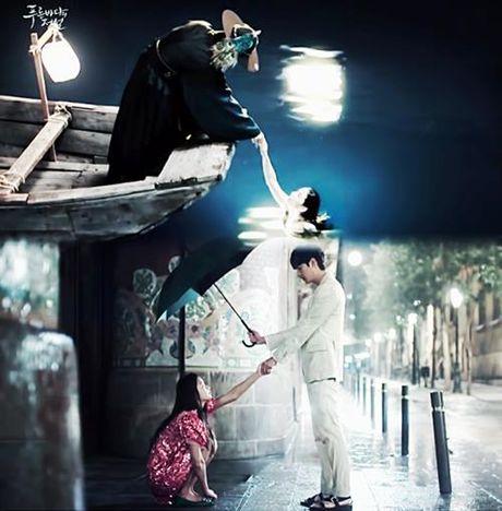 "Huyen thoai bien xanh tap 1: Lee Min Ho ""can loi"" vi do ""dien"" cua Jun Ji Hyun - Anh 21"