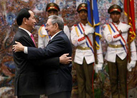 Nang cao hieu qua hop tac Viet Nam - Cuba - Anh 1