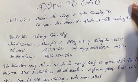 Quang Tri: Om tien ty cua nguoi dan, nu 'dai gia' tuyen bo vo no - Anh 3