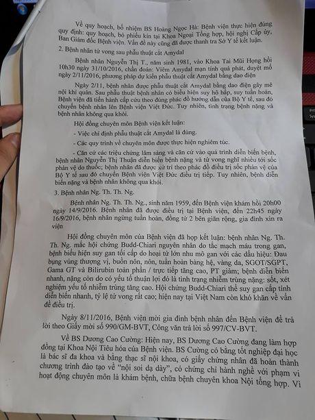 4 thang 3 benh nhan tu vong: BV Da khoa tinh Nam Dinh len tieng - Anh 2