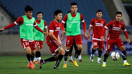 AFF Suzuki Cup 2016: Tuyen Viet Nam kin dao luyen cong - Anh 1