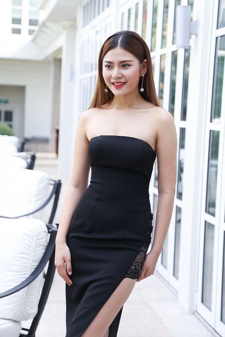 Ho Ngoc Ha dep lan at dan thi sinh The Face mua dau tien - Anh 8