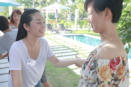 Khoanh khac hai huoc cua Mai Thanh Ha khi tap dien xuat - Anh 3