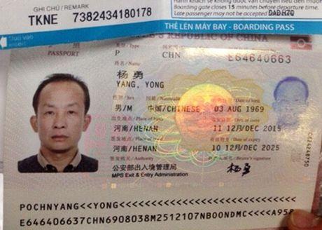 Da Nang: Them mot vu khach Trung Quoc trom cap tren chuyen bay - Anh 1