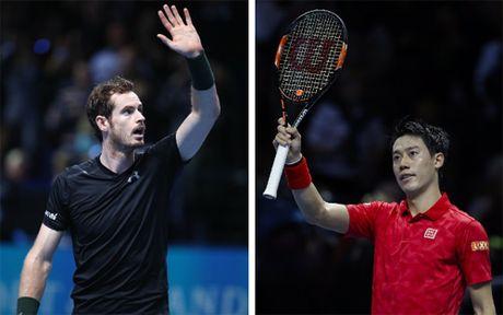 Murray - Nishikori: 3 set giau cam xuc (ATP Finals) - Anh 1
