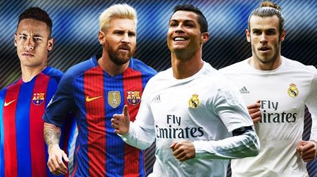 Cau thu hay nhat nam: Neymar gan Messi, CR7 ngang Bale - Anh 1