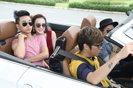 Mac Hong Quan dong phim cung Angela Phuong Trinh - Anh 5