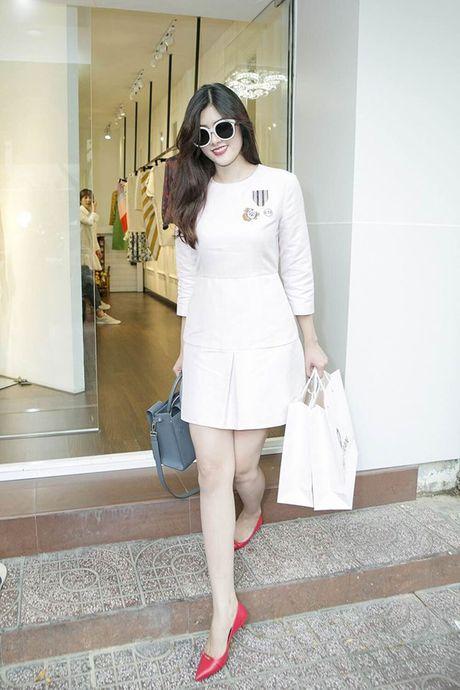Huynh Tien sang Hong Kong du tiec sinh nhat dai TVB - Anh 4