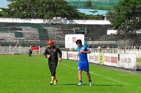 Tuan Anh lan dau ra san tap tuyen Viet Nam o Myanmar - Anh 5