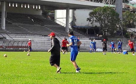 Tuan Anh lan dau ra san tap tuyen Viet Nam o Myanmar - Anh 7