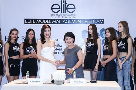 Lan Khue lam giam doc dieu hanh Elite Model khu vuc phia Nam - Anh 1