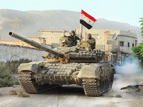 Quan doi Syria tiep tuc tai chiem nhieu khu vuc tai Aleppo - Anh 1