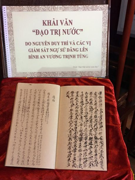 Lam sang to than the, su nghiep cua danh nhan Nguyen Duy Thi - Anh 2