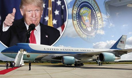 Ong Donald Trump co the khong dung Air Force One vi qua cu - Anh 1