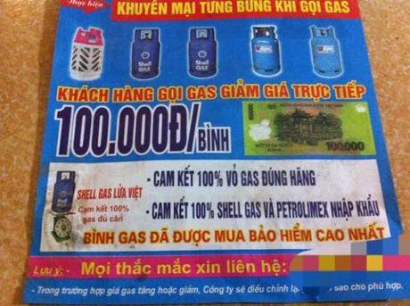 Vach tran chieu tro 'moc tui' khach hang dang sau gas gia re - Anh 1