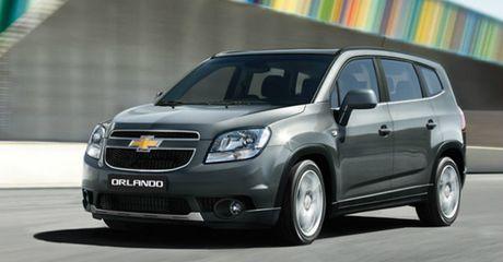 Loi nut khoi dong, Chevrolet Orlando bi trieu hoi - Anh 1