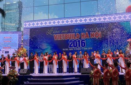 Diem tin 16/11: Khai mac Trien lam quoc te Vietbuild Ha Noi 2016 - Anh 1