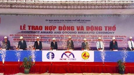 TP HCM dong tho goi thau 1a du an Metro Ben Thanh – Suoi Tien - Anh 1