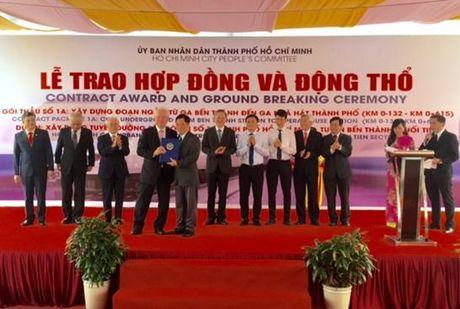 TP HCM dong tho goi thau 1a du an Metro Ben Thanh – Suoi Tien - Anh 2