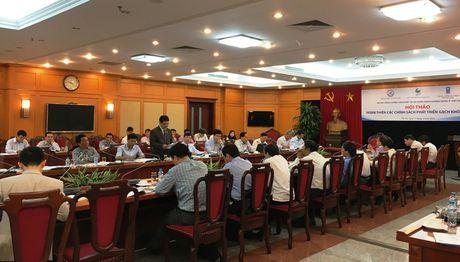 Dieu chinh chinh sach ve vat lieu xay khong nung cho phu hop - Anh 1