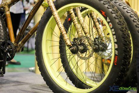Doc dao xe dap 3 banh khung tre tai Viet Nam Cycle 2016 - Anh 18