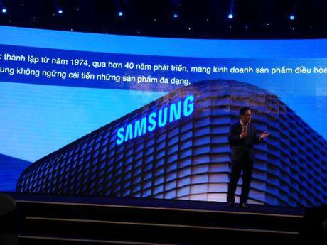 Samsung gioi thieu nhieu he thong dieu hoa khong khi hien dai - Anh 1