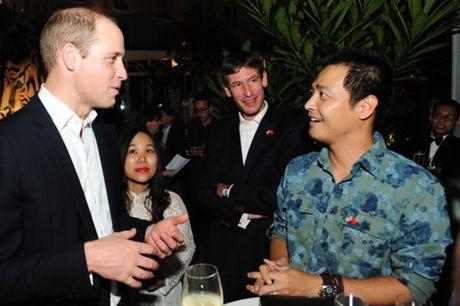 Hong Nhung, Phan Anh an tuong voi su chan tinh cua Hoang tu William - Anh 3