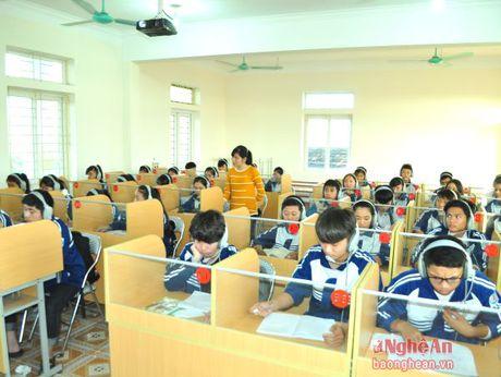 Truong THPT Quynh Luu 3 khong ngung nang cao chat luong day va hoc - Anh 1
