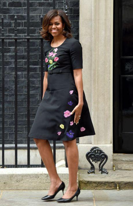 Michelle Obama - Nguoi dan ba quyen luc voi phong cach thoi trang sieu sanh dieu - Anh 10